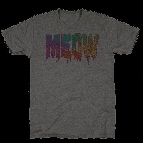 Meow Melt Mens T-Shirt