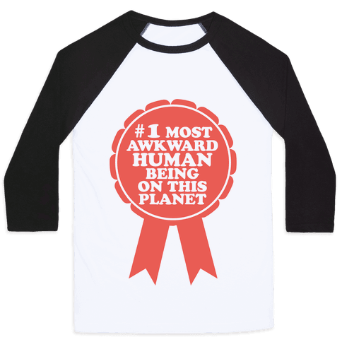 Most Awkward Baseball Tee