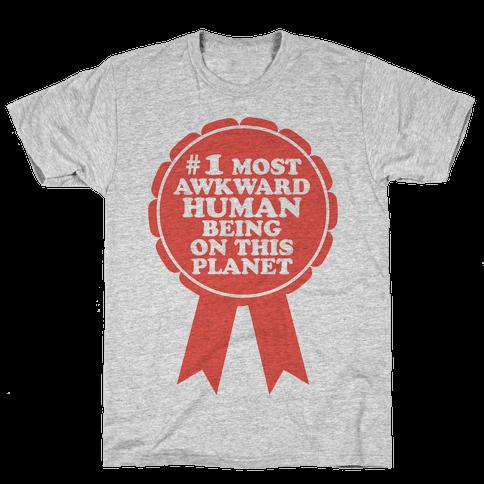 Most Awkward Mens T-Shirt