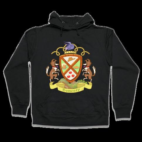 Pony of Honesty Medieval Crest Hooded Sweatshirt