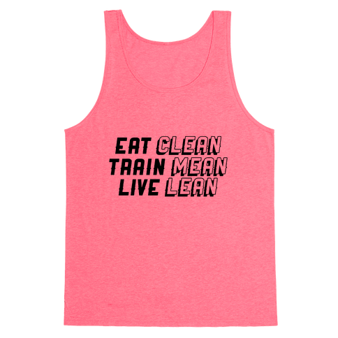 Eat, Train, Live Tank Top