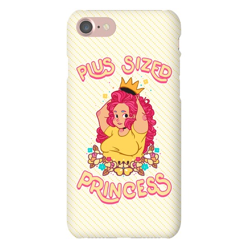 Plus Sized Princess Phone Case