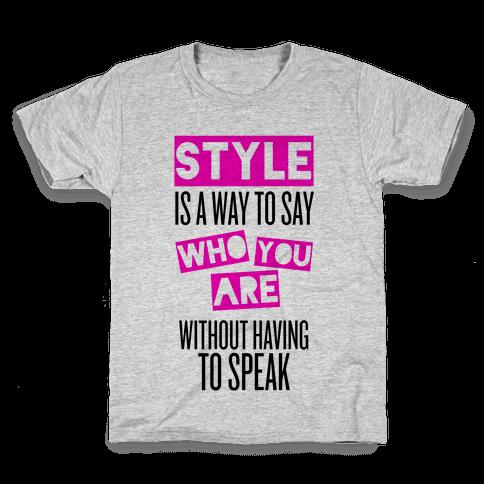 Style Kids T-Shirt