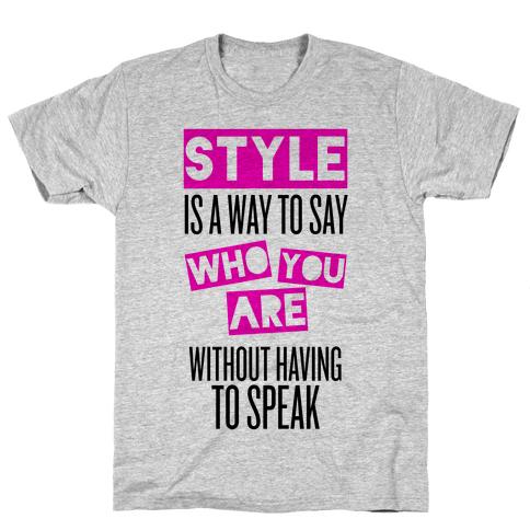 Style Mens T-Shirt