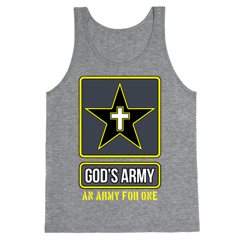 God's Army Tank Top