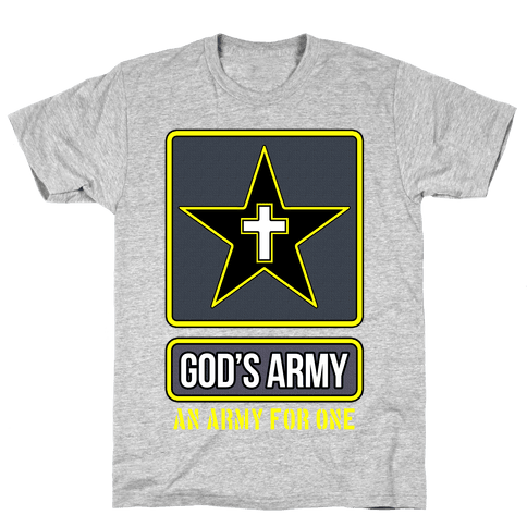 God's Army Mens T-Shirt