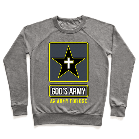 God's Army Pullover
