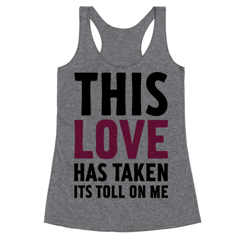 This Love Racerback Tank Top