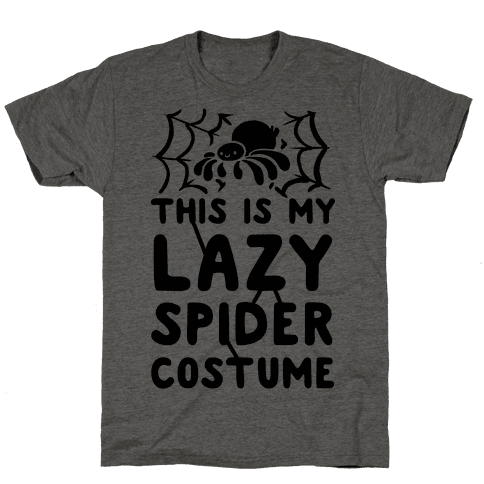 This is My Lazy Spider Costume Mens T-Shirt