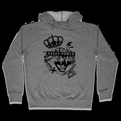 Pussy Power Hooded Sweatshirt