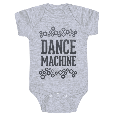 Dance Machine Baby Onesy