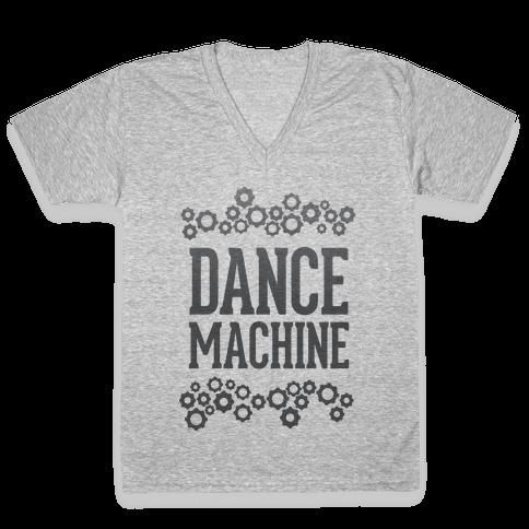 Dance Machine V-Neck Tee Shirt