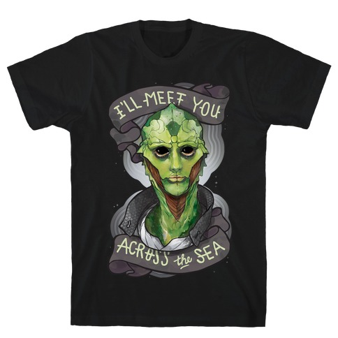 I'll Meet You Across The Sea (Thane) Mens T-Shirt