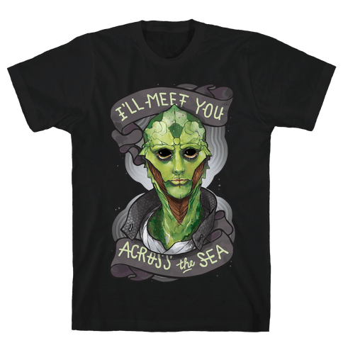 I'll Meet You Across The Sea (Thane) Mens T-Shirt