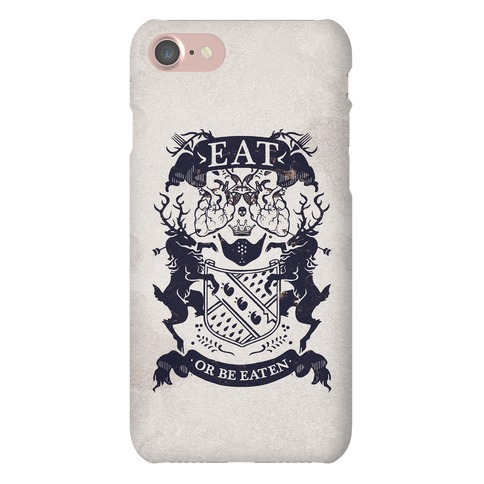 Eat Or Be Eaten Phone Case