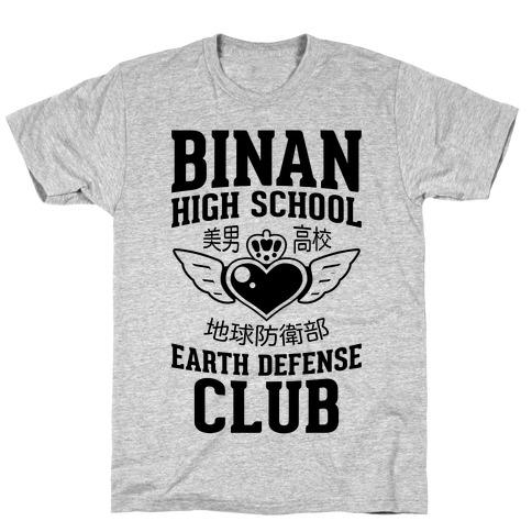 Binan High School Earth Defense Club T-Shirt