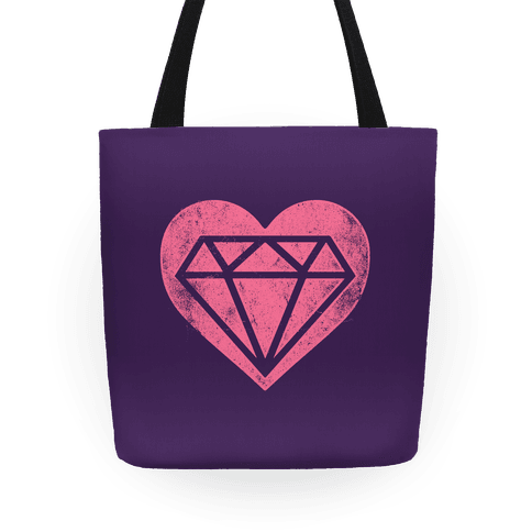 Diamond Heart Tote