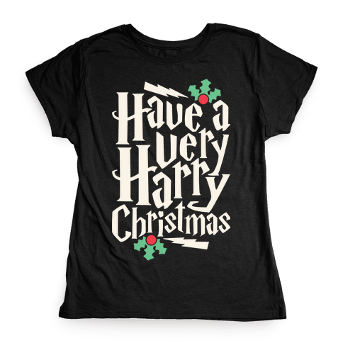 Have A Very Harry Christmas Womens T-Shirt