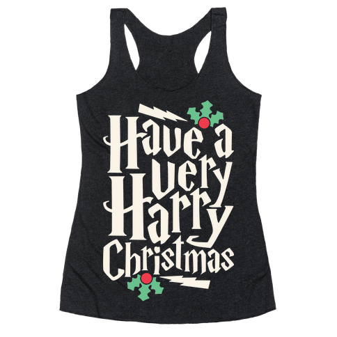 Have A Very Harry Christmas Racerback Tank Top