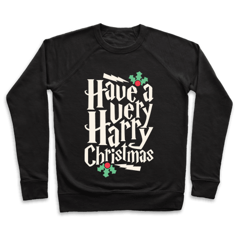 Have A Very Harry Christmas Pullover