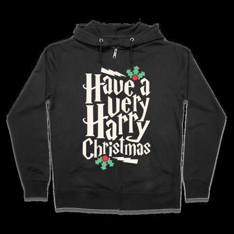 Have A Very Harry Christmas Zip Hoodie
