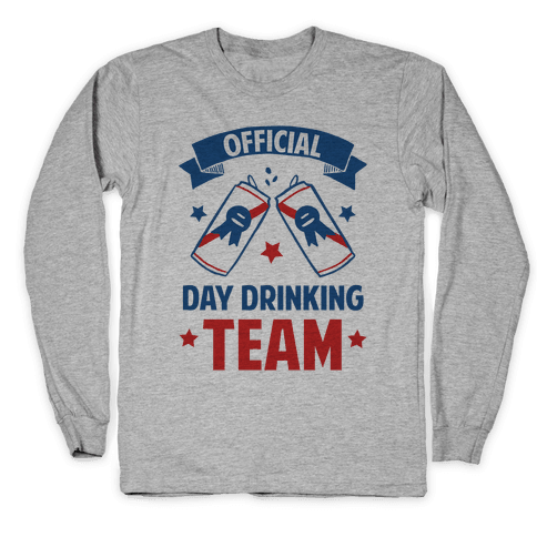 Official Day Drinking Team Long Sleeve T-Shirt