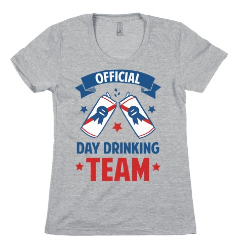 Official Day Drinking Team Womens T-Shirt