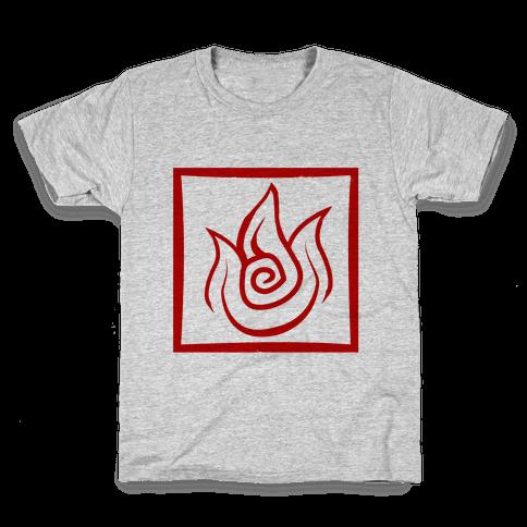 Fire Bender Kids T-Shirt