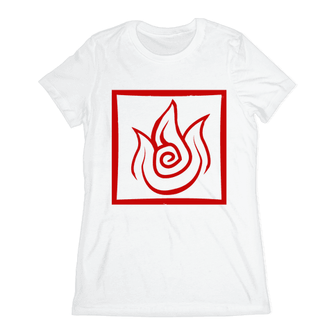 Fire Bender Womens T-Shirt