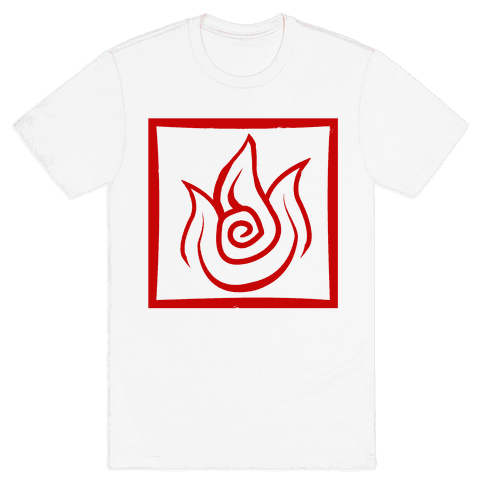 Fire Bender Mens T-Shirt
