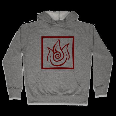 Fire Bender Hooded Sweatshirt