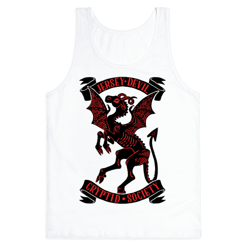 Jersey Devil Cryptid Society Tank Top