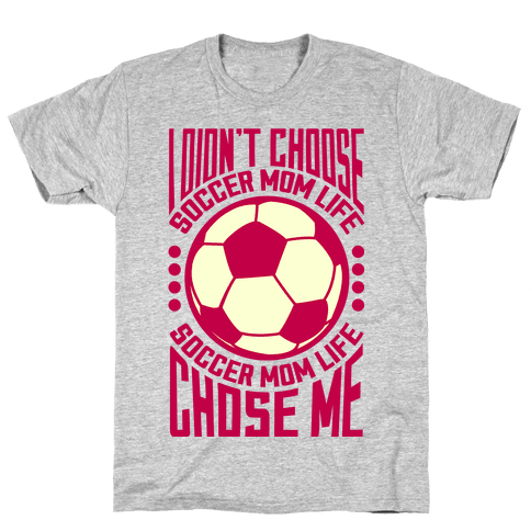 Soccer Mom Life (pink) Mens T-Shirt