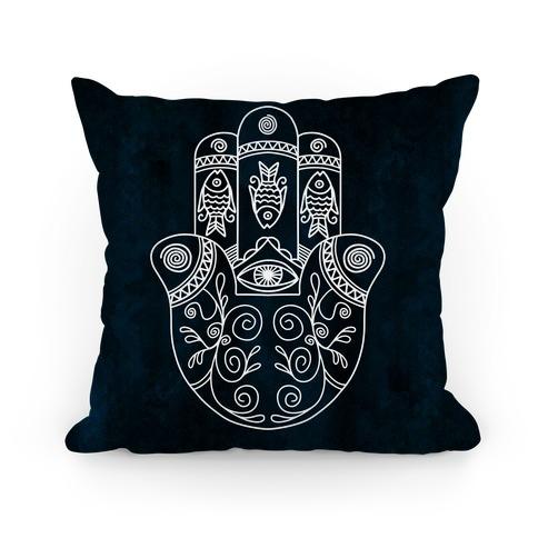 Hamsa Pillow