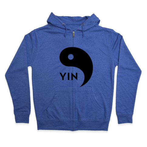 Yin Yang (Yang, Part 2) Zip Hoodie