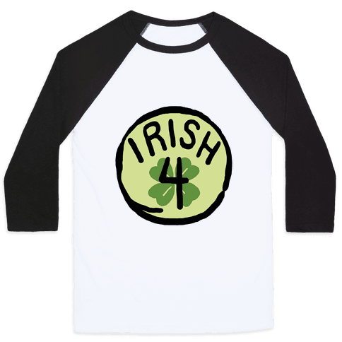 Irish 4 (St. Patricks Day) Baseball Tee
