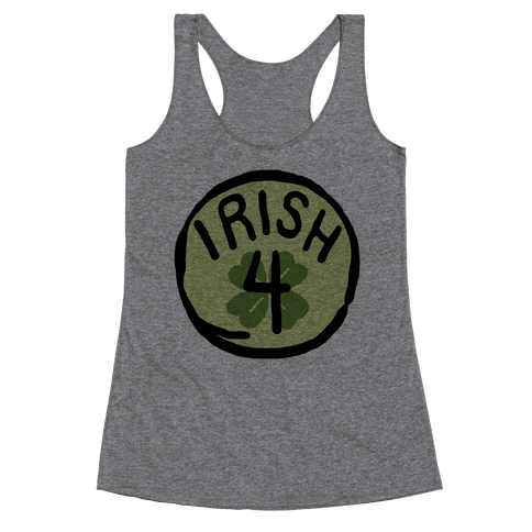 Irish 4 (St. Patricks Day) Racerback Tank Top