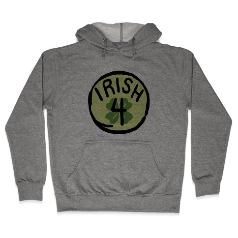 Irish 4 (St. Patricks Day) Hooded Sweatshirt