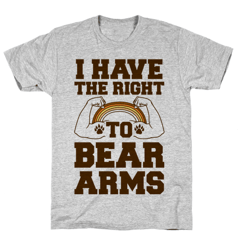 I Have The Right To Bear Arms Mens T-Shirt