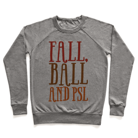 Fall Ball and Psl Pullover
