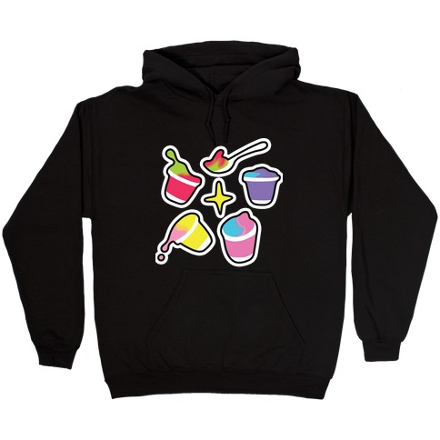 Rainbow Yogurt Hooded Sweatshirt
