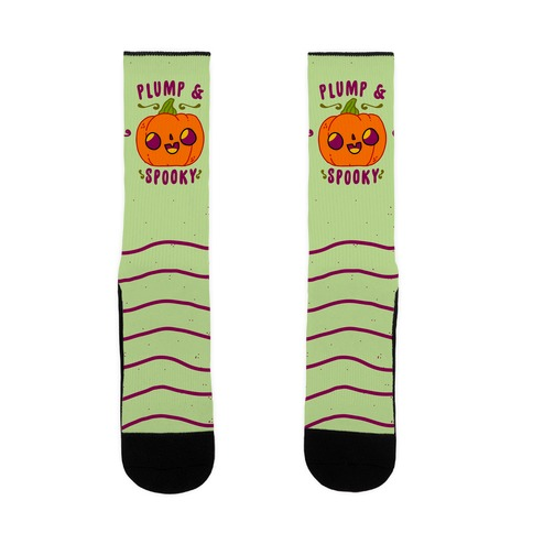 Plump and Spooky Sock