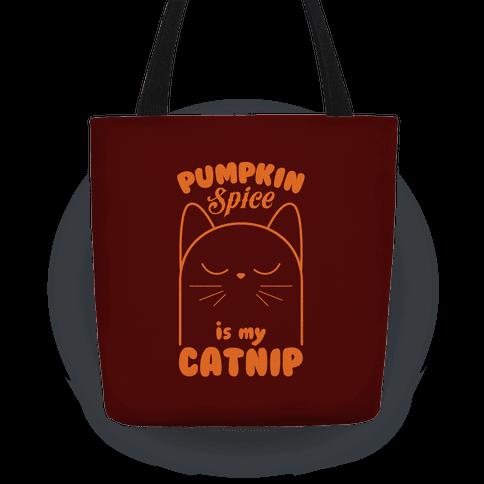 Pumpkin Spice Catnip Tote