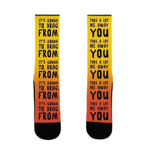 Africa Lyric Pairs Socks Sock