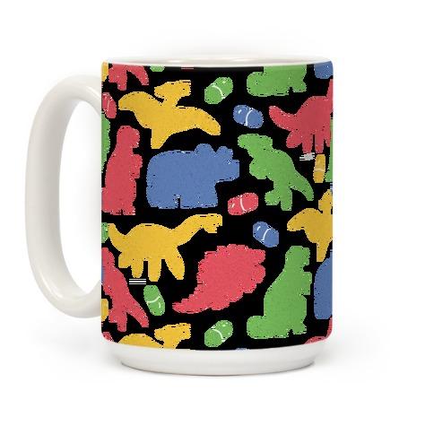 Dinosaur Capsules Pattern Coffee Mug