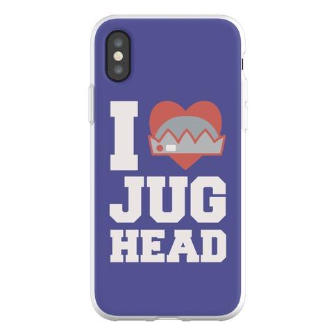 I Love Jughead Phone Flexi-Case