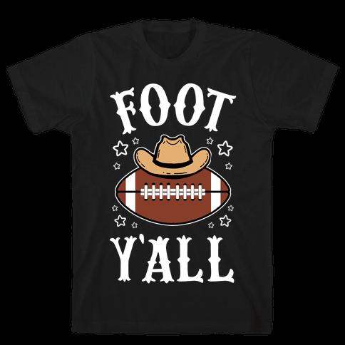 Footy'all Mens/Unisex T-Shirt