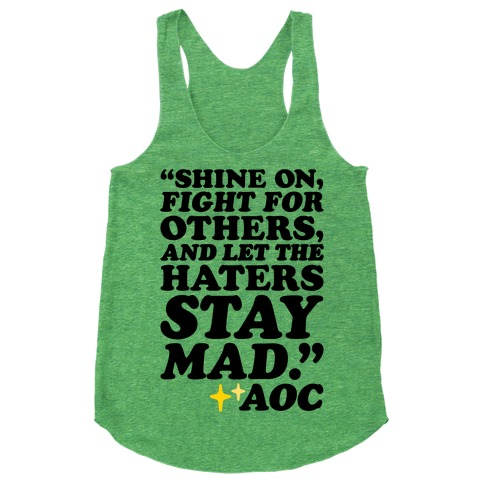 Shine On Fight For Others Racerback Tank Top