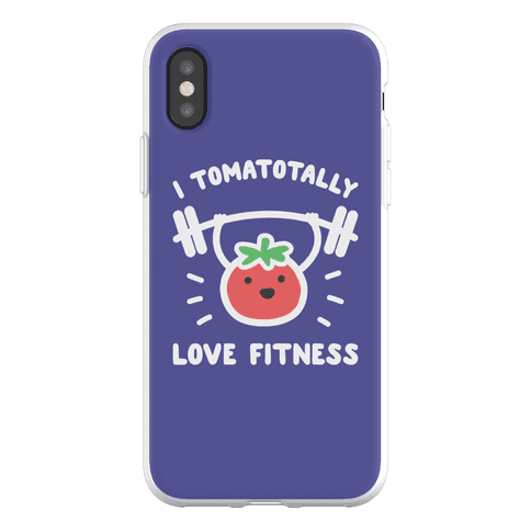 I Tomatotally Love Fitness Phone Flexi-Case