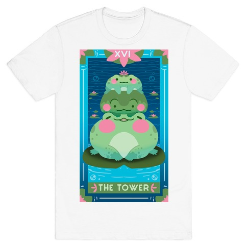 The Tower of Frogs T-Shirt
